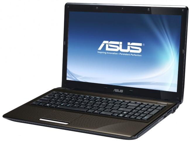 שיחזור הגדרות יצרן במחשב נייד מסדרת Asus K52