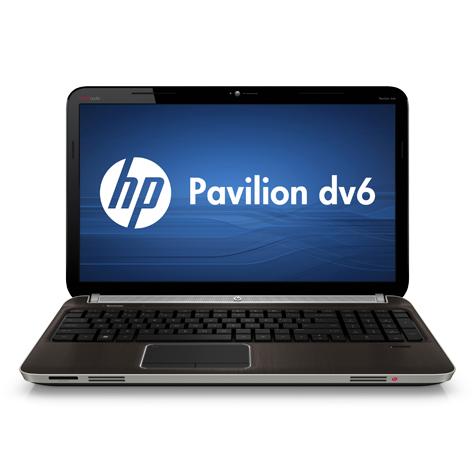שיחזור הגדרות יצרן במחשב נייד מסדרת HP Pavilion dv6